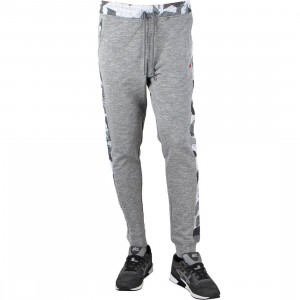 Staple Men Geocamo Sweatpants (gray / heather)