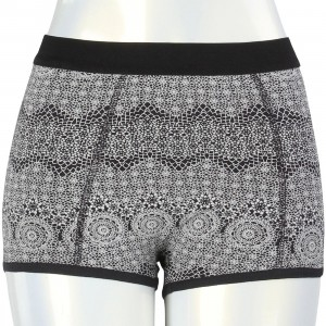 RVCA Women No Pressure Brief Boxers (black)