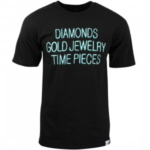 Diamond Supply Co Men Jewelers Row Tee (black)