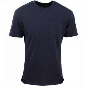 Diamond Supply Co Men Facet Pocket Tee (navy)