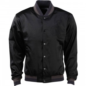 Diamond Supply Co Men School Yard Varsity Jacket (black)