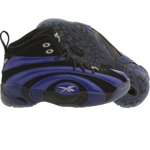Reebok Big Kids Shaqnosis OG - Orando Magic (black / blue / white)