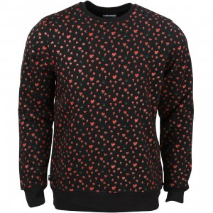 The Hundreds Men Rosewell Crewneck Sweater (black)