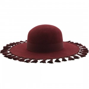 Brixton Sophia Hat (purple / wine)