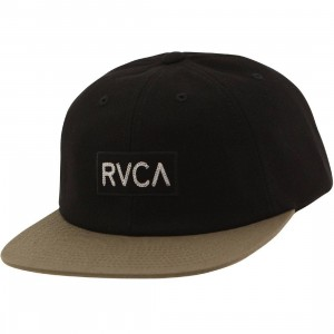 RVCA Revere Six Panel Cap (black)