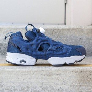Reebok Men InstaPump Fury SP (blue/ noble blue / collegiate navy / cloud grey / white)