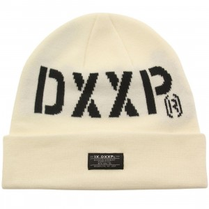 10 Deep Standard Issue Beanie (white / off white)
