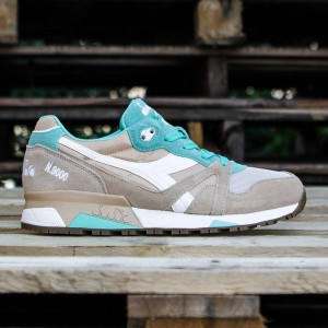Diadora Men N9000 NYL (tan / teal / beige)