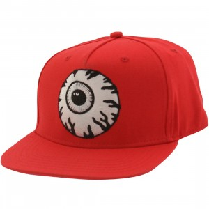 Mishka Keep Watch Snapback Cap (red)