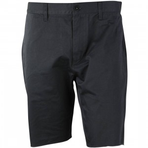 RVCA Men Dayshift Cutoff Shorts (black / pirate)