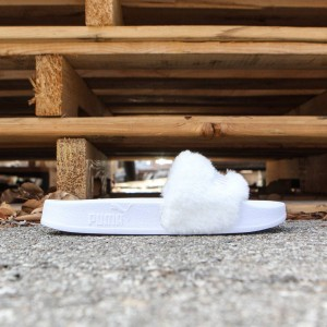 Puma x Fenty By Rihanna Women Leadcat Slides (white)