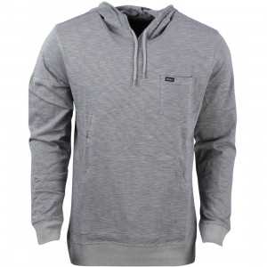 RVCA Men Feeder Hoody (gray / monument)