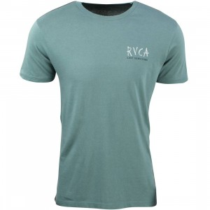 RVCA Men Last Survivors Tee (green / sage leaf)