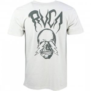 RVCA Men Bolt Vision Tee (gray / slate)