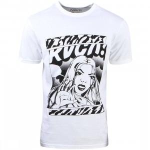 RVCA Men Girlfriend Tee (white)
