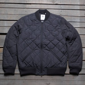Adidas Consortium x Wings And Horns Men Insulated Bomber Jacket (black)