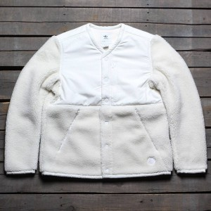 Adidas Consortium x Wings And Horns Men Sherpa Jacket (white / off white)