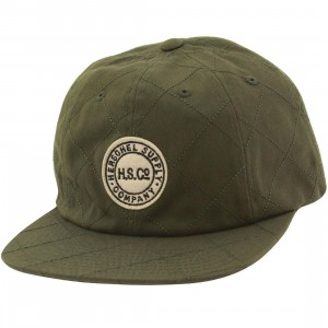 Herschel Supply Co Glenwood Cap (green / quilted army)