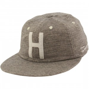Herschel Supply Co Creston Cap (black / white brush)