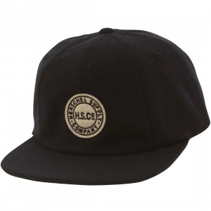 Herschel Supply Co Glenwood Cap (navy / wool)