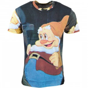 Eleven Paris x Disney Snow White Men Happy Tee - BAIT Exclusive (multi / print)