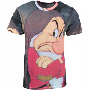 Eleven Paris x Disney Snow White Men Grumpy Tee - BAIT Exclusive (multi / print)