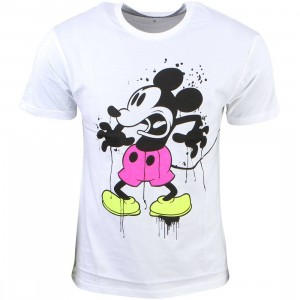 Eleven Paris x Disney Men Lickey Tee - BAIT Exclusive (white)