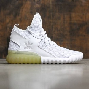 Adidas Men Tubular X Primeknit (grey / white / light solid grey)