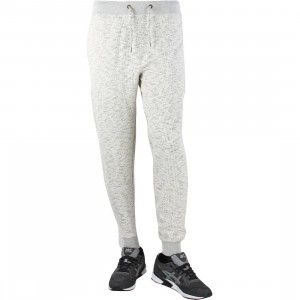 10 Deep Men Division Sweatpants (white / natural marble)