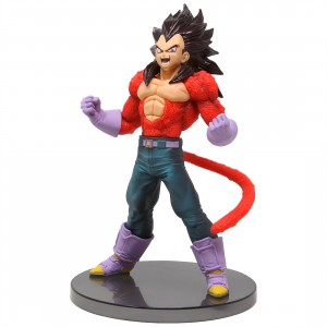 Banpresto Dragon Ball GT Blood Of Saiyans Special Ver. 4 Super Saiyan 4 Vegeta Figure (red)