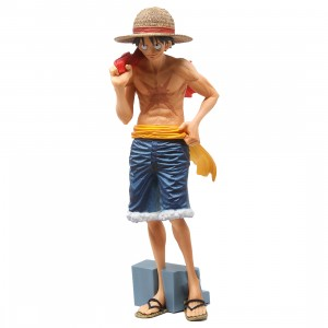 Banpresto One Piece Magazine Figure Vol.2 Monkey D. Luffy Figure (tan)