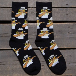 40s and Shorties Men Dab Socks (black) 1S