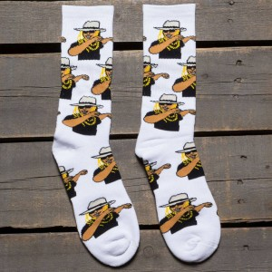 40s and Shorties Men Dab Socks (white) 1S