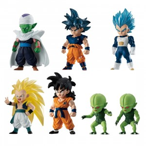 Bandai Dragon Ball Super Adverge Vol 11 Set Of 10 Figures (multi)