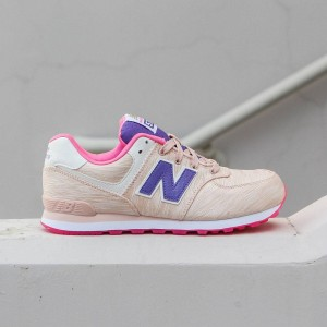 New Balance Big Kids 574 - KL574SOG (pink)