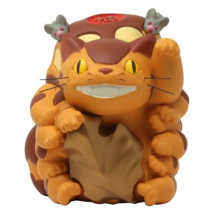 Studio Ghibli Benelic My Neighbor Totoro Cat Bus Lucky Figure (yellow)