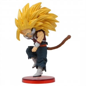Banpresto Super Dragon Ball Heroes World Collectable Figure Vol. 7 - 32 Super Saiyan 3 Cumber (yellow)