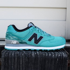 New Balance Men 574 Summer Waves ML574SIE (teal / white)