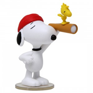 Medicom UDF Peanuts Series 6 Pirate Snoopy Ultra Detail Figure (white)