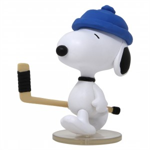 Medicom UDF Peanuts Series 6 Hockey Player Snoopy Ultra Detail Figure (white)