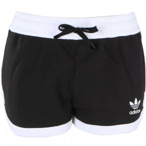 Adidas Women Originals Running French Terry Shorts (black)