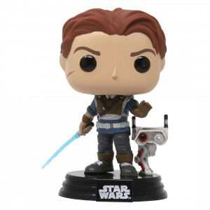 Funko POP Games Star Wars Jedi Fallen Order Cal Kestis With BD-1 (tan)