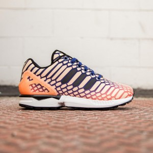 Adidas Women ZX Flux (orange / sun glow / lush ink / white)