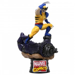 Beast Kingdom Marvel Comics D-Stage Wolverine Statue - PX Previews Exclusive (yellow)