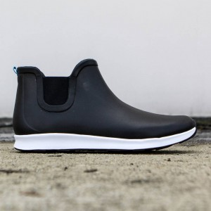 Native Men Apollo Rain Boot (black / shell white)