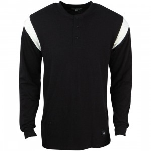 Akomplice Men Runner LS Tee (black / white)
