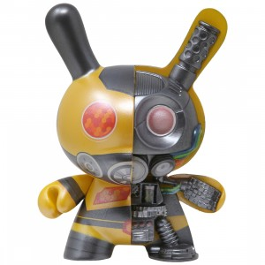 Kidrobot Dolly Oblong Dairobo B 5 Inch Dunny Figure (yellow)