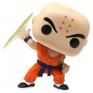 Funko POP Animation Dragon Ball Z Krillin With Destructo Disc (tan)