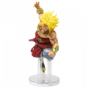Bandai Ichiban Kuji Dragon Ball Super Saiyan Broly 94 Figure (yellow)