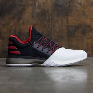 Adidas Men Harden Vol. 1 (black / scarlet / footwear white)